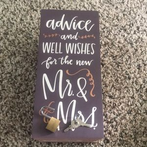 Primitive Party Supplies - Wedding Well Wishes Box By Kathy Wish
